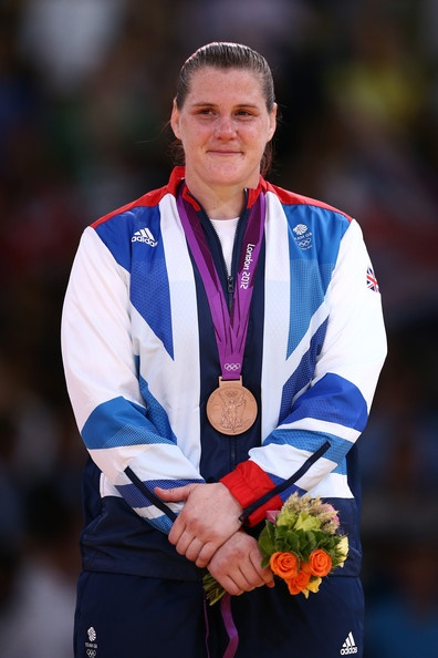 Judo: Team GB's Karina Bryant wins  joint Bronze with  China's Wen Tong in the Womens  +78kg!