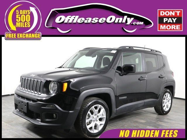 Ebay 2018 Renegade Latitude Fwd Off Lease Only 2018 Jeep Renegade