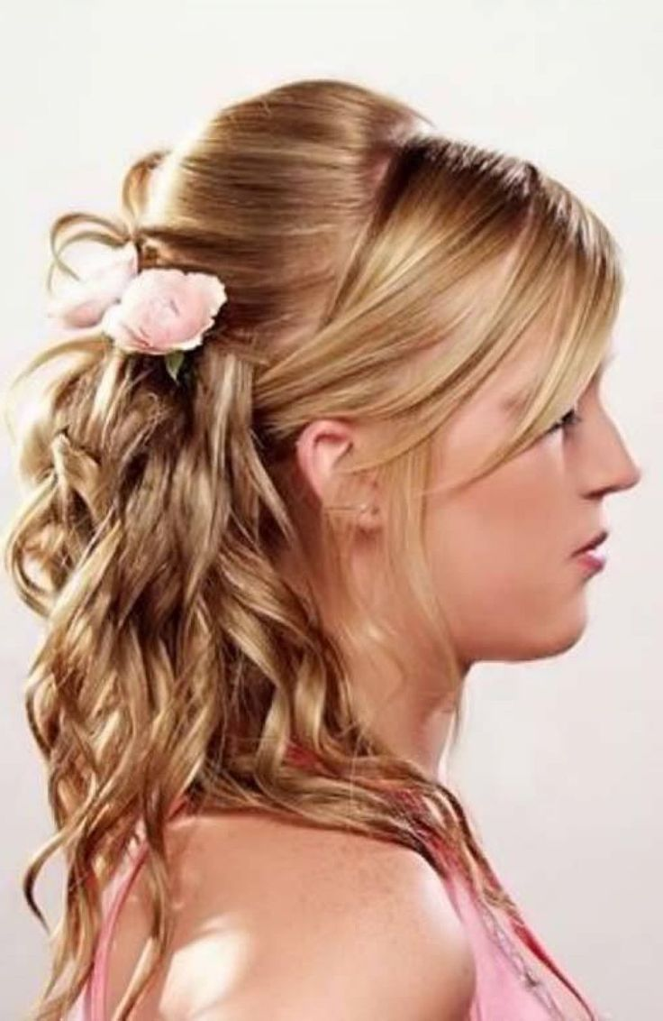 Homecoming hairstyles for long thick hair - Cute Homecoming Hairstyles For Long Hair Ideas