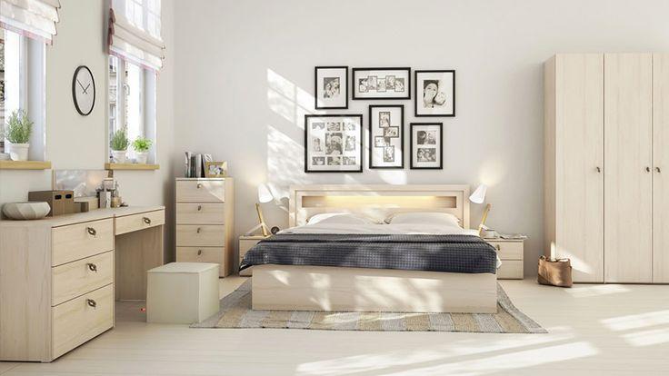 Camera da letto beige 14
