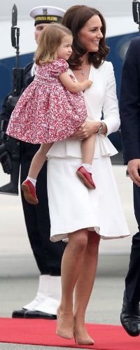 17 Jul 2017 - Duchess of Cambridge arrived with her family in Warsaw for Royal Visit Poland