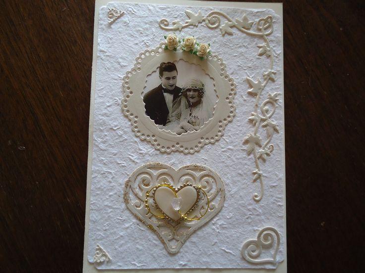 Wedding card for Toni