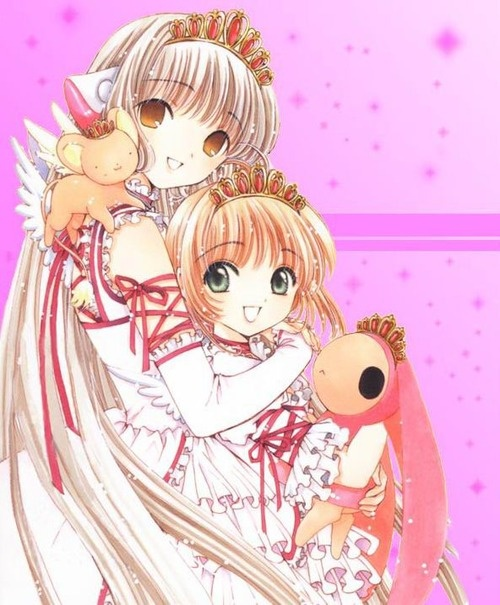 Chii From Chobits And Sakura From Cardcaptor Sakura. Two