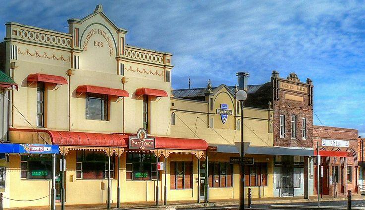 Small town Australia