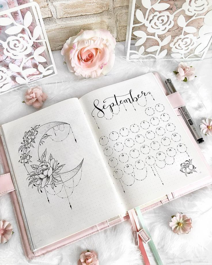Boho Bullet Journal Theme Inspirations