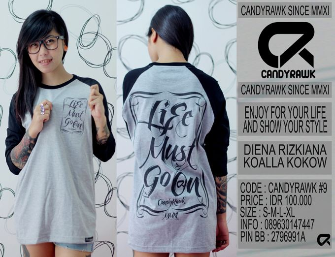 #38 | CANDYRAWK #9 | IDR 100.000 | SOLD OUT |