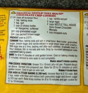 yummiest chocolate chip cookies ... add almond extract for extra yumminess   doubles well