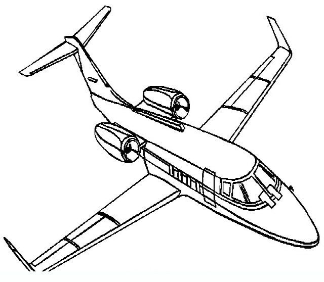 18 best Airplanes Coloring Pages