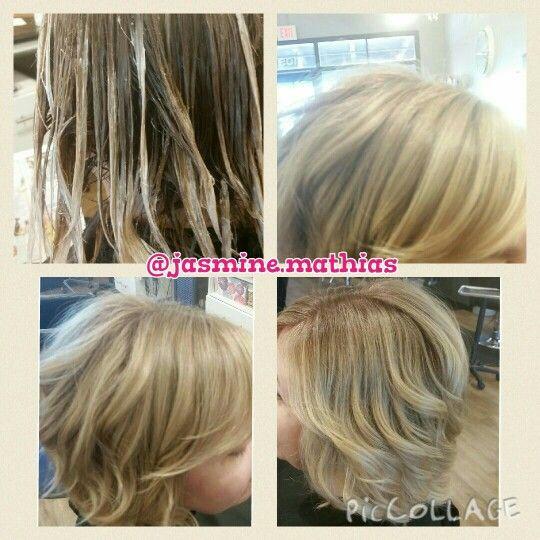 Shadow Root Color Melt Blonde Hair Hair Pinterest