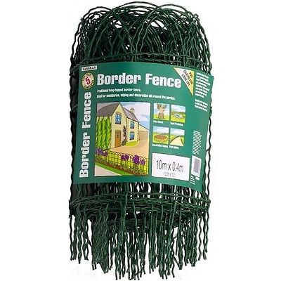 10m x 0.4m #garden #border wire #fence/fencing lawn edging,  View more on the LINK: http://www.zeppy.io/product/gb/2/330943863320/