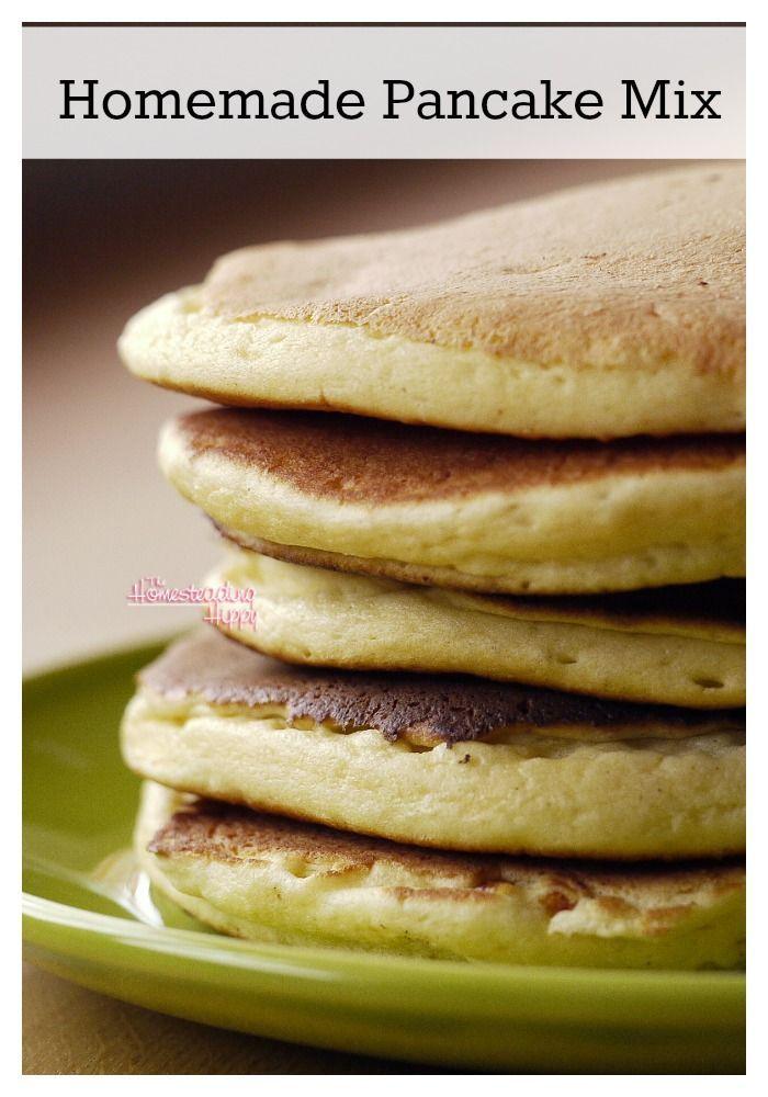 how to make pancake mix thicker