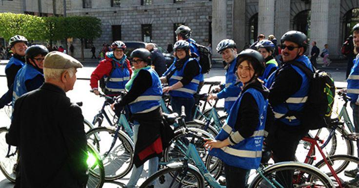 De Ontdek Dublin fietstour op CitySpotters