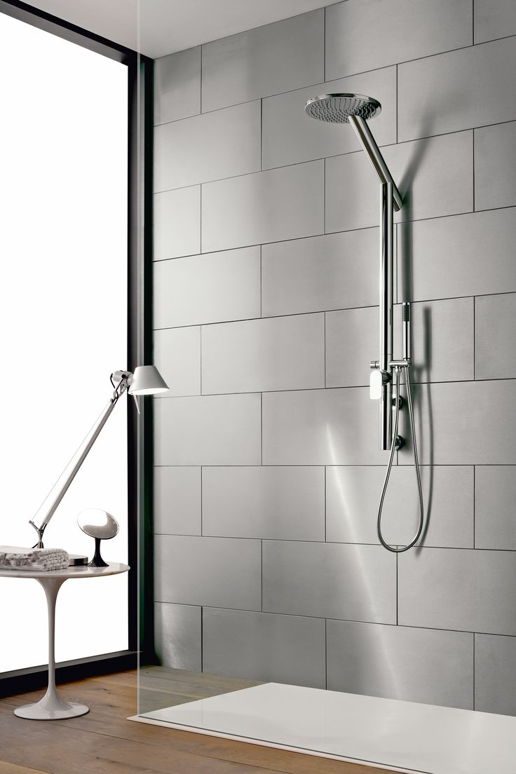 8 best Exposed Showers images on Pinterest   Showers, Faucets and ...