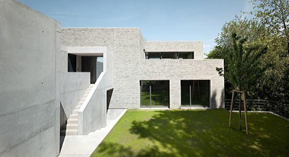 Monolith in Hanglage Haus 36 in Stuttgart Einfamilienhaus - eklektischen stil einfamilienhaus renoviert
