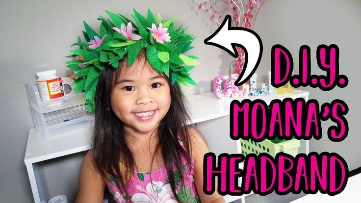 DIY Moana Headband | Flower Headband Craft