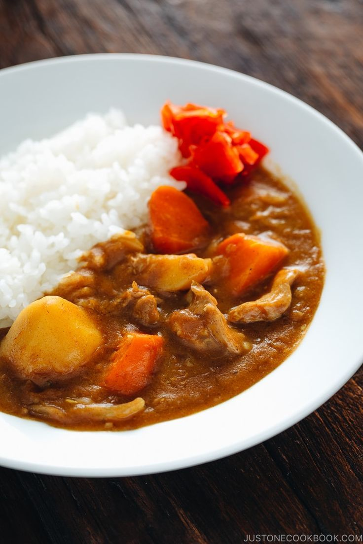Pressure Cooker Japanese Curry カレーライス 圧力鍋 Just One Cookb Recipe In 2020 Easy Japanese Recipes Japanese Curry Curry