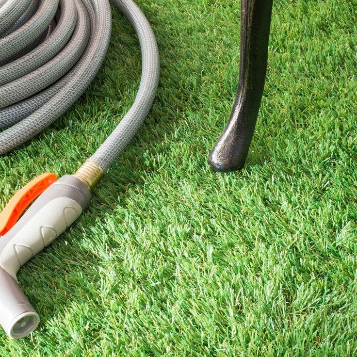 nuLOOM Artificial Grass Outdoor Lawn Turf Patio Rug
