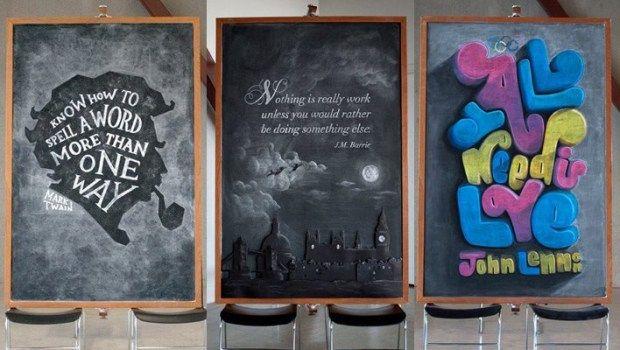 23 Inspirational Chalkboard Quotations