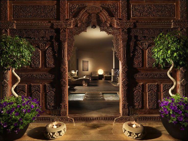 Royal Garden Villas & Spa. Lujo asiático en Canarias. 8  El ambiente mágico del Spa se ve potenciado por el ambiente asiático de la decoración.