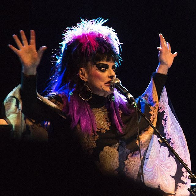 Nina Hagen - O2 Shepherd's Bush Empire, 24 Sep 2016 by Derek Ridgers