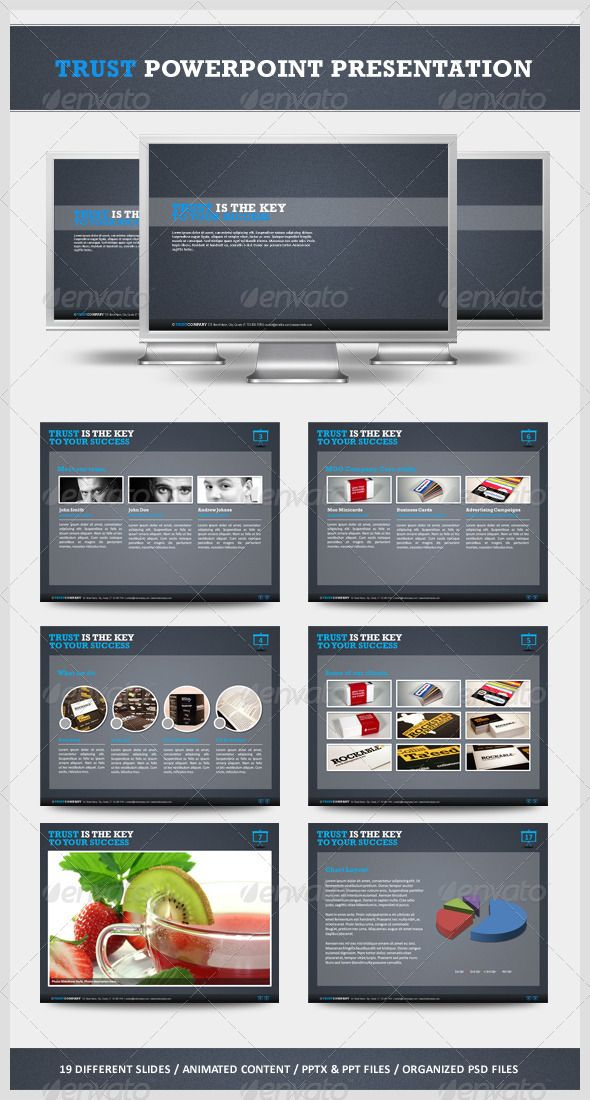 Trust Powerpoint Presentation - GraphicRiver Item for Sale