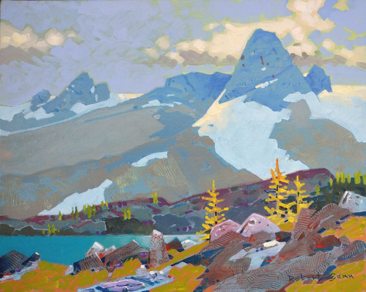 Robert Genn - A Spire in the Bugaboos, 1936
