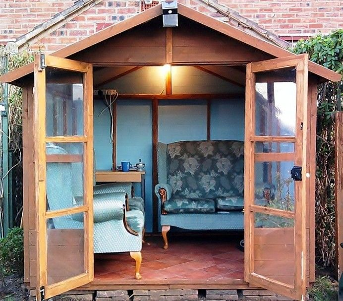 1446 Best Potager Garden Sheds Rooftop Gardens: Best 25+ Garden Shed Interiors Ideas On Pinterest