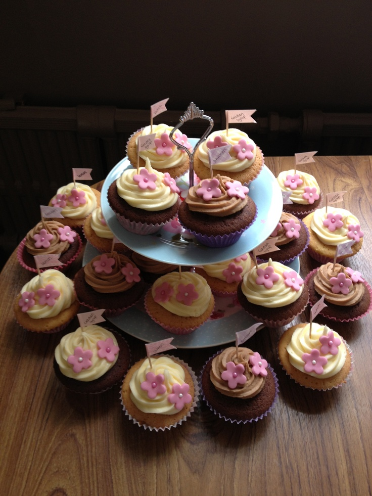 Snickers, Lemon, Golden Syrup Cupcakes