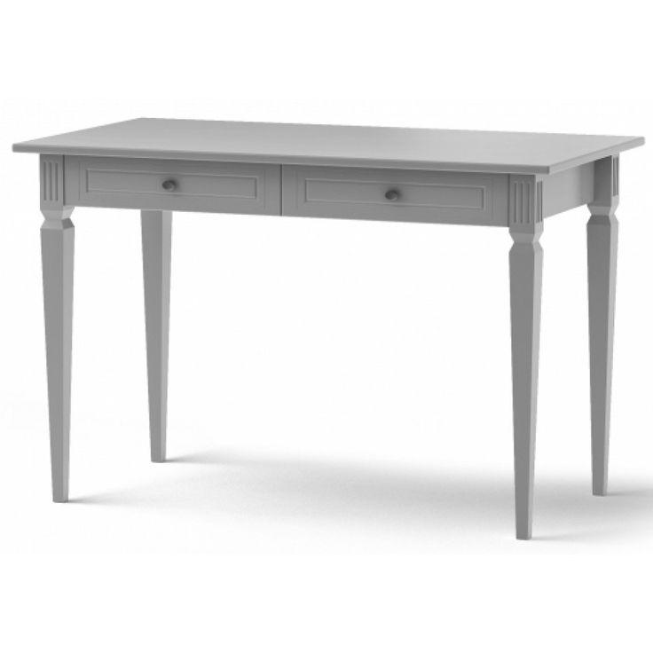 Ines skrivbord grå :: Skrivbord, Kontorsmöbler, Barn och ungdoms möbler, Varumärken > Bellamy