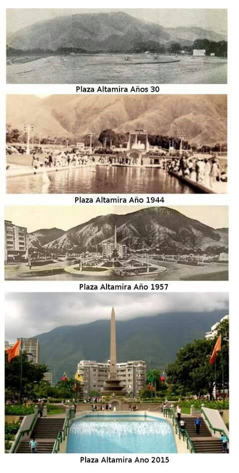 Evolución de la Plaza Francia de Altamira a través de los años