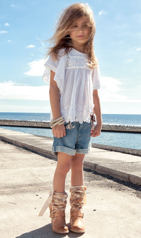 Twin-Set Girl SS14, moda italiana para niñas primavera-verano