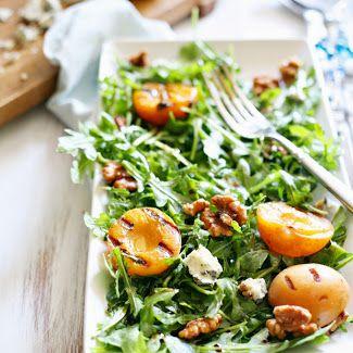 Yummy Mummy Kitchen: Pear, Walnut, and Goat Cheese Salad with Maple Vinaigrette