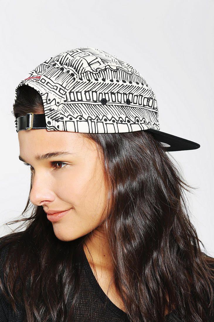 Stussy Jibberish Camp Hat  urbanoutfitters  0f03572871