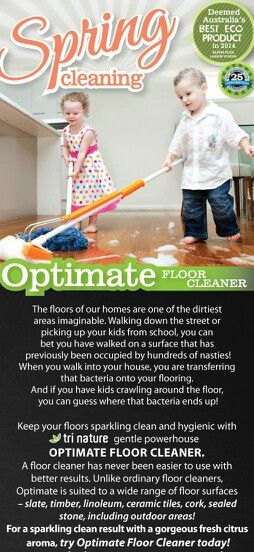 Optimate Floor Cleaner 1lt $19.95 +$10 postage Australia wide. www.beinspirednaturally.trinature.com #eco-friendly #nontoxic #childsafe #Australian #plantbased #chemicalfree #NOanimaltesting