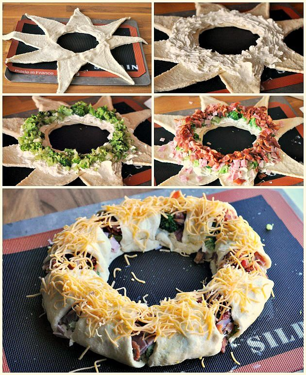 Food Family Finds » Shopping at Dollar General | Holiday Crescent Wreath Appetizer Recipe