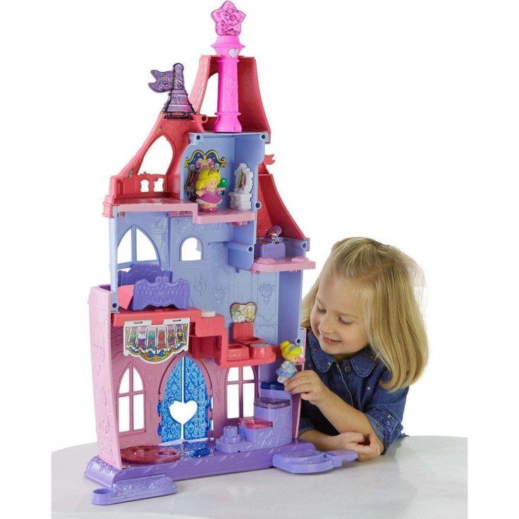 Fisher Price Little People Disney Princess Royal Ball Castle Gift Set Kids Toy #FisherPriceLittle