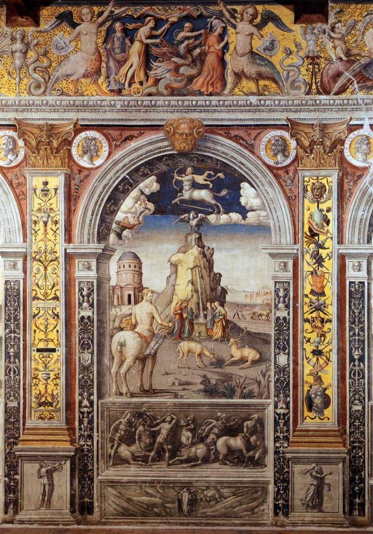 Sign of Sagittarius - Giovanni Maria Falconetto
