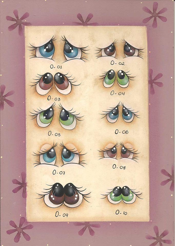ojos de fofuchas