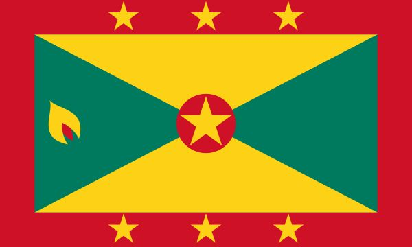 """(GRENADA) is an island country consisting of the island of Grenada and six smaller islands at the southern end of the Grenadines in the southeastern Caribbean Sea. Grenada is located northwest of Trinidad and Tobago, northeast of Venezuela, and southwest of Saint Vincent and the Grenadines. Grenada is also known as the """"Island of Spice"""" because of the production of nutmeg and mace crops of which Grenada is one of the world's largest exporters."""