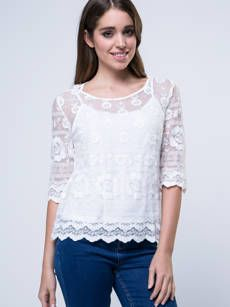 Buy Plain Courtly Round Neck Blouse online with cheap prices and discover fashion Blouses at Fashionmia.com.