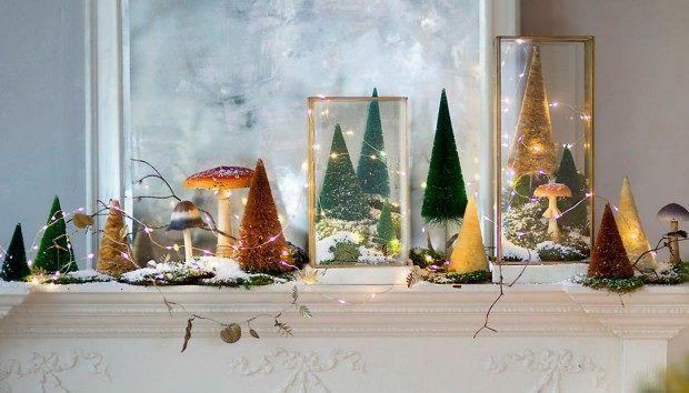 Χριστουγεννιάτικα Φωτάκια: 12 Πρωτότυποι Τρόποι Να τα Διακοσμήσετε  #Διακόσμηση