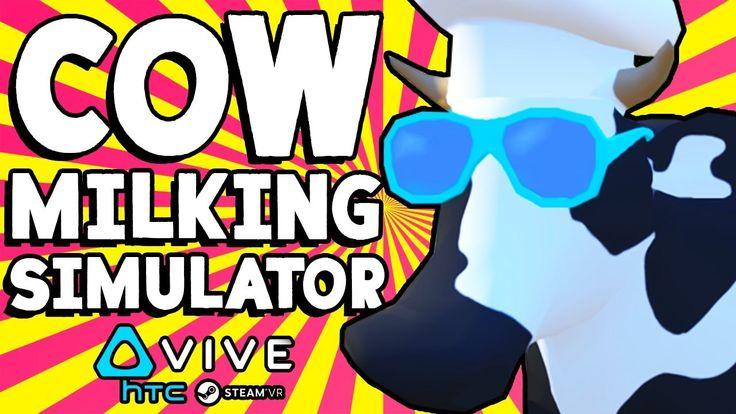 #VR #VRGames #Drone #Gaming MILK COWS & THROW ROCKS AT ALIENS IN VIRTUAL REALITY!! || Cow Milking Simulator VR Gameplay Part 1 cheru2016, cow, cow milk simulator, cow milking, cow milking game, cow milking simulator, cow milking simulator game, cow milking simulator gameplay, cow milking simulator part 1, cow milking simulator vr, cow milking simulator vr game, cow milking simulator vr gameplay, family friendly, Funny VR Games, htc vive, htc vive gameplay, kid friendly, milk