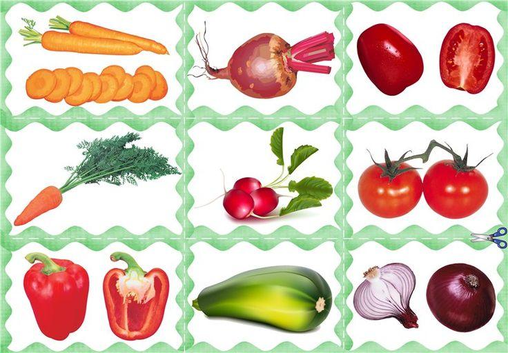 Сюжетные картинки овощи для дошкольников