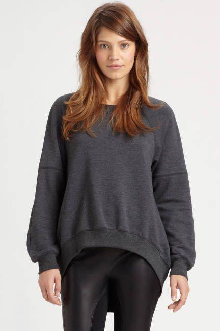 Elizabeth and James' Jordans sweatshirt