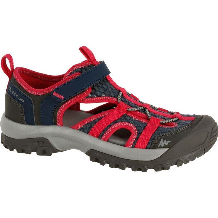 Sandały Hike 900 dla dziewcząt QUECHUA - Turystyka_5,49 Turystyka - Decathlon