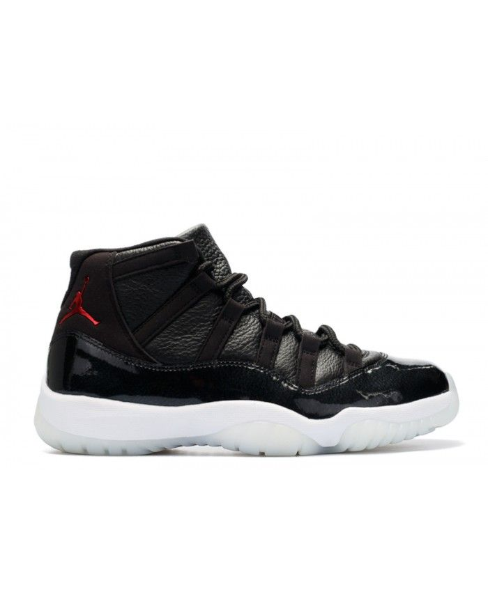 4c317335849 Air Jordan 11 Retro 72-10 Black Gym Red White Anthracite 378037-002 ...