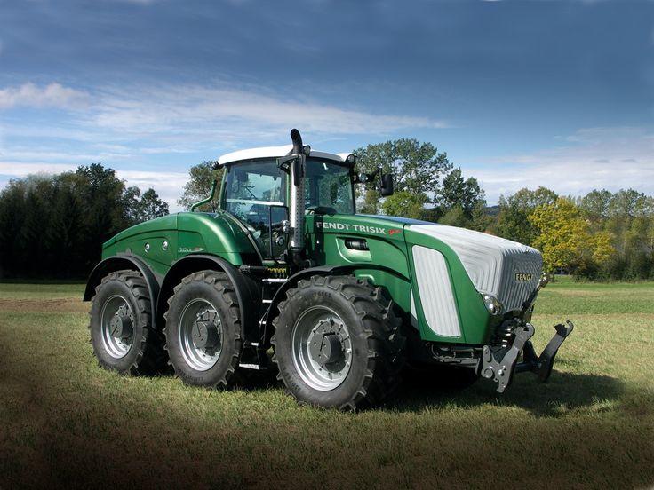 tractors   TractorData.com - AGCO introduces Fendt TRISIX tractor at Agritechnica