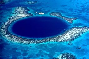 Dive the Great Blue Hole of Belize with this unique Belize Scuba Diving Package