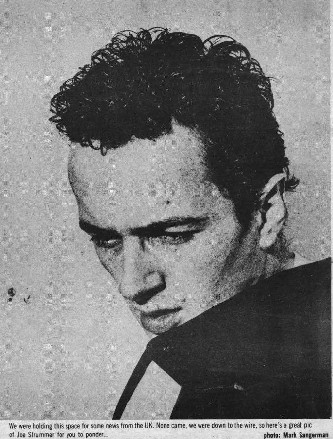 Clash - Trash — postmanultrachic: joe strummer da slash 1979