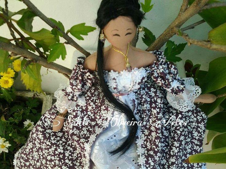Esta boneca coreana é de minha criação!!!